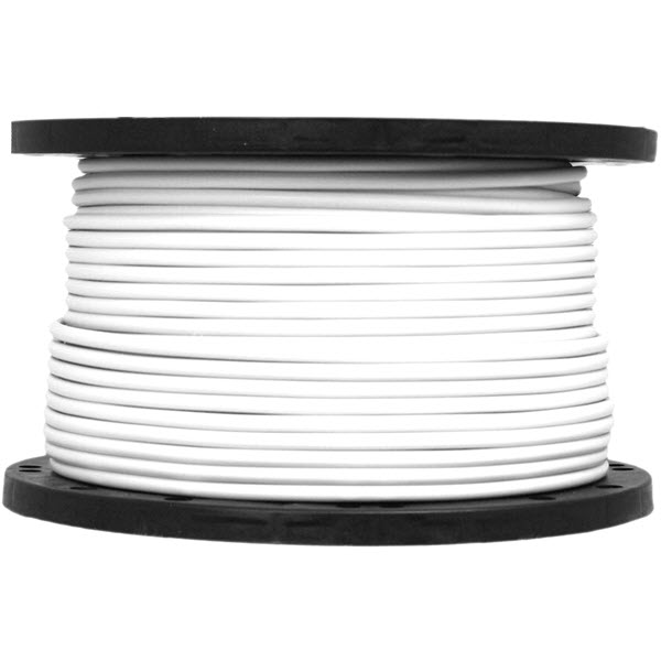 White Cable 4-Core 1.5mm x 100m