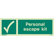 Personal Escape Kit 4024