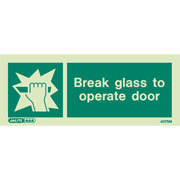 Break Glass To Operate 4075