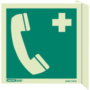 Wall Mount First Aid Telephone 4392FS