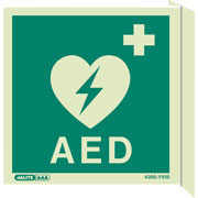 Wall Mount Emergency Defibrillator 4347FS