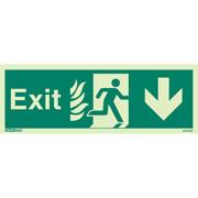NHS Exit Down 447HTM