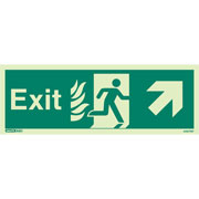 NHS Exit Up Right 449HTM