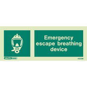 Emergency Escape Breathing Device & Breathing Device 4523