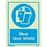 Wear Face Shield 5025