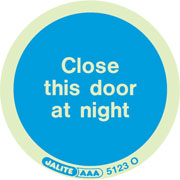 Close Door At Night Pack of 10 5123