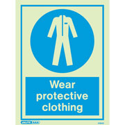 Wear Protective Clothing 5164