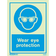 Wear Eye Protection 5497
