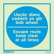 Llwybr Dianc Cadwch Yn 5535