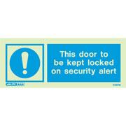 Door Locked On Security Alert 5597