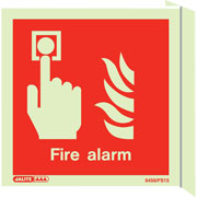 Wall Mount Fire Alarm 6450