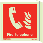 Wall Mount Fire Telephone 6451