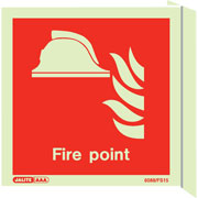 Wall Mount Fire Point Marker 6459
