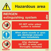 Inergen Extinguishing System 6492