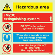 FM200 Extinguishing System 6515
