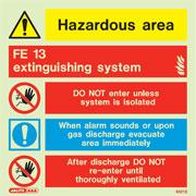 FE 13 Extinguishing System 6521
