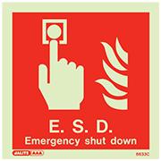 Emergency Shut Down 6633