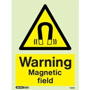Warning Magnetic Field 7521