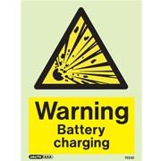 Warning Battery Charging 7523