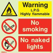 Warning L.P.G 7541