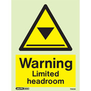 Warning Limited Headroom 7583