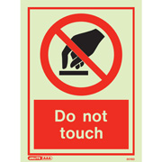 Do Not Touch 8016