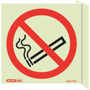 Wall Mount No Smoking 8024FS