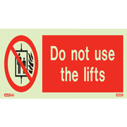 Do Not Use Lifts 8252