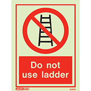 Do Not Use Ladder 8286