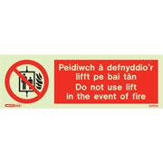 Peidiwch A Defnyddio'r Lifft Pe Bai Tan 8290