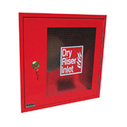 4-Way Red Inlet Cabinet