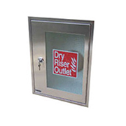 Vertical Outlet Cabinet Stainless Steel