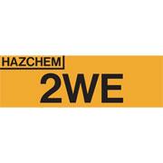 Hazchem 2WE HAZ2WE