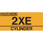 Hazchem Cylinder 2XE HAZCYL2XE