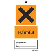 Harmful Labels Pack of 10 TIE028