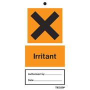 Irritant Labels Pack of 10 TIE029