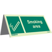 Tabletop Smoking Area Pack of 5 TT3655