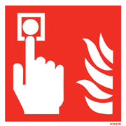 White Fire Alarm WX6421