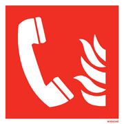 White Fire Telephone WX6424
