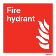 White Fire Hydrant WX6454