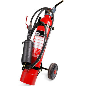 10kg CO2 wheeled extinguisher