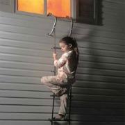 First Alert two storey fire escape ladder