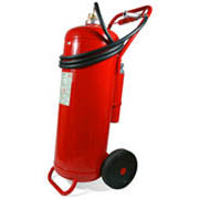 100 litre foam wheeled extinguisher