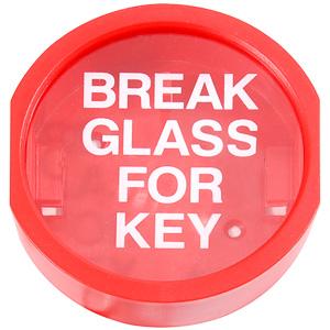 Break glass key box