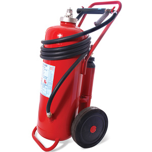 50kg powder wheeled extinguisher