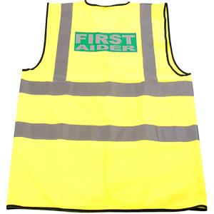 Hi-vis first aider vest