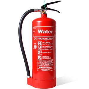 6 litre water additive fire extinguisher