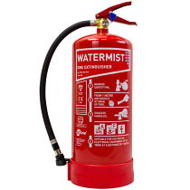 6 litre Water Mist Fire Extinguisher