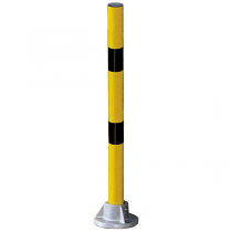 Striped Safety Post