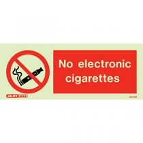 No Electronic Cigarettes 8041